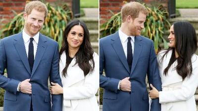 Príncipe Harry y Meghan Markle aparecen juntos tras compromiso y muestran el anillo
