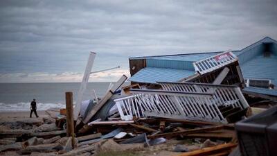 Matthew, degradado a ciclón postropical, dejó al menos 17 muertos en EEUU