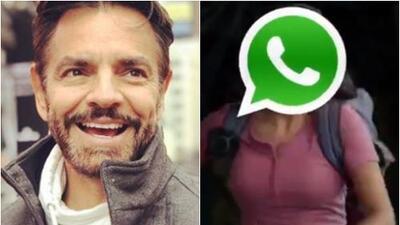 Eugenio Derbez se burla de la falla de Instagram y WhatsApp