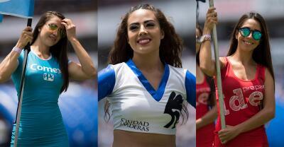 En fotos: Las porristas pusieron la alegría en Querétaro vs. Lobos BUAP