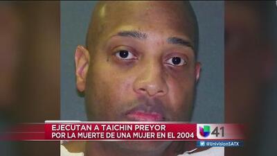 Ejecutaron a Taichin Preyor, acusado por el homicidio de una mujer en 2004