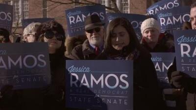 Hija de inmigrantes hispanos se enfrentará en las urnas al senador José Peralta