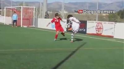 Golazos, gambetas, y ruletas a lo Zidane: así juega Luka Romero, la 'joya mexicana' que robó Argentina