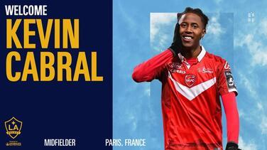 LA Galaxy sigue sumando delanteros con el fichaje de Kevin Cabral