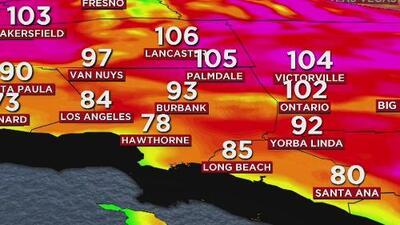"""""""El pico de calor será el sábado"""": alerta por calor extremo en el sur de California"""