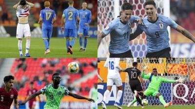 En fotos: la caída del Team USA y el triunfo de Uruguay se destacan en el Mundial Sub-20