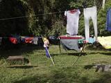 Decenas de cubanos varados en la selva de Panamá tras el fin de 'pies secos, pies mojados' entran en huelga de hambre