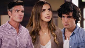 Leonel se puso furioso al encontrar discutiendo a Valeria y Mateo