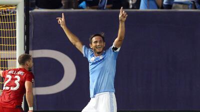 Frank Lampard cambió el rumbo de NYCFC tras recuperarse de su lesión