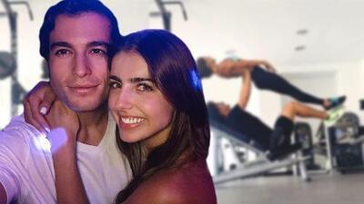Michelle Renaud y Danilo Carrera derraman miel al mostrar cómo sus rutinas de ejercicio se complementan