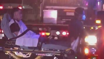 Un herido y dos arrestados, el resultado de una persecución policial en el área de Pasadena