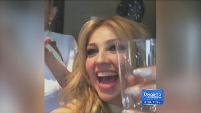 Thalía celebró por todo lo alto su participación en Premio lo Nuestro