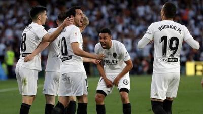 Valencia, segundo club que gana la Copa del Rey en el año de su centenario