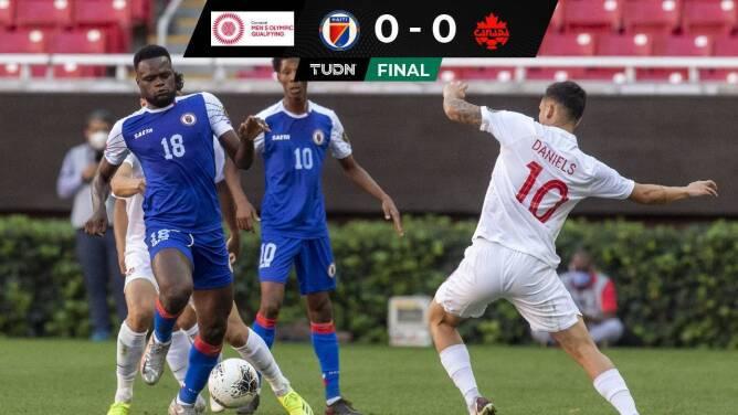 ¡Se cansaron de fallar! Canadá y Haití no se hacen daño y empatan 0-0