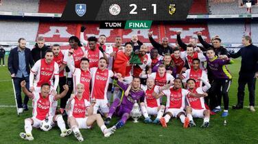 ¡Campeón! Edson Álvarez se corona con Ajax en la KNVB Cup