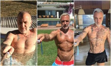 Envejecer le sienta así de bien a Gianluca Vacchi, que ya cumpió  50 años