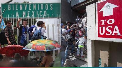 López Obrador da su brazo a torcer y México le pone un alto a los migrantes que van 'de paso' a EEUU u otros países