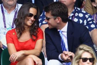 'Pippa' muy enamorada en Wimbledon