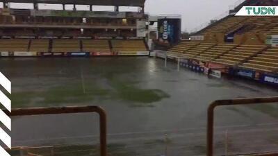Estadio de Dorados vuelve a inundarse