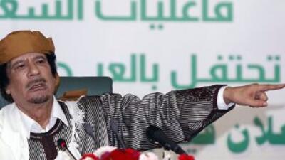 Gadafi advierte que habrá miles de muertos si la OTAN ataca Libia
