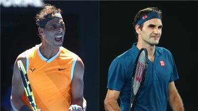 Nadal y Federer sonríen en su debut en el Abierto de Australia