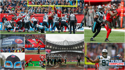 Panthers derrotan a Buccaneers en Londres