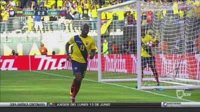 Ecuador goleó a Haití y pasó a cuartos de final de la Copa América