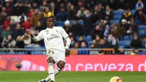 Vinicius se proclama como el mejor jugador del mundo
