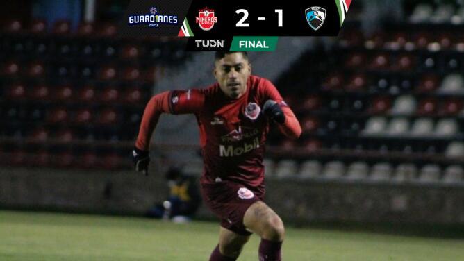 Resumen | Mineros venció 2-1 a Tampico Madero en el último minuto