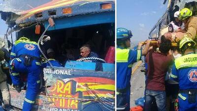 La Sonora Dinamita sufre terrible accidente automovilístico que deja 16 heridos