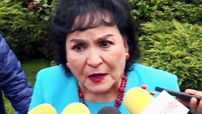 Carmen Salinas le manda un mensaje a Eduardo Yáñez al ver los ataques que hace contra la prensa