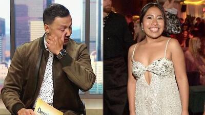Conmovido hasta las lágrimas, Luis Sandoval habla de la presencia de Yalitzia Aparicio en los Golden Globes