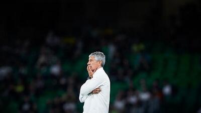 Setién contará con Lainez y Guardado en el antepenúltimo partido de la temporada