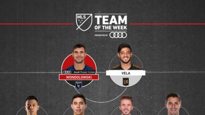 Los goles no faltan: Chris Wondolowski y Carlos Vela, figuras del Equipo de la Semana 12