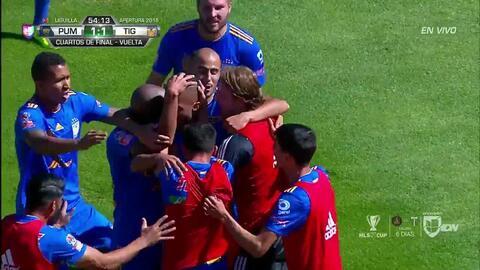 ¡GOOOL! Alfredo Saldívar anota para Pumas UNAM