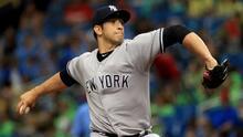 Luis Cessa de Veracruz, México a los New York Yankees de las Grandes Ligas