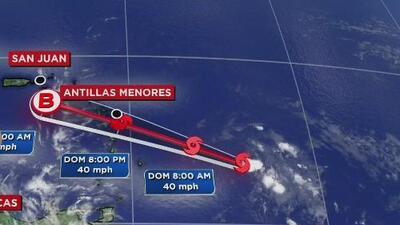 Tormenta tropical Beryl se debilita mientras avanza hacia las Antillas Menores