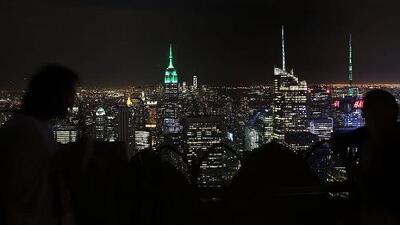 A Nueva York le espera una noche de viernes parcialmente nublada y con condiciones secas