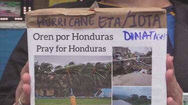 Buenos samaritanos en NYC suman esfuerzos para enviar ayuda a los países afectados por Iota
