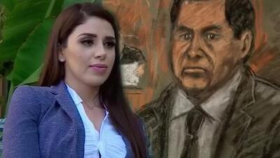"""""""Aquí nadie se ha muerto"""": la inmediata reacción de Emma Coronel al escuchar el veredicto contra 'El Chapo'"""