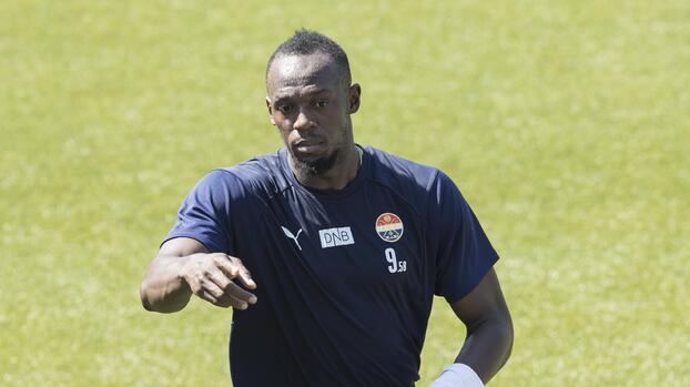 Usain Bolt debutará como futbolista con un equipo noruego