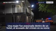 Una mujer fue asesinada dentro de un hotel, el acusado del crimen es su novio