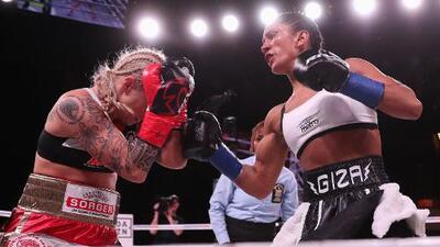 ¡Histórico! En menos de un minuto, Amanda Serrano obtuvo su séptimo título mundial