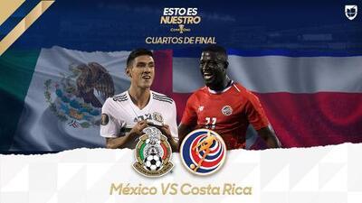¿Peligro real? El Tri va por Semifinales ante la inesperada Costa Rica