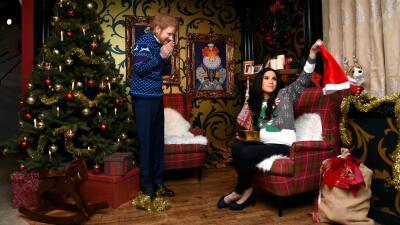 Como nunca los verás: un museo recrea la Navidad del príncipe Harry y Meghan Markle