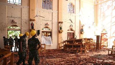 Suben a 290 los muertos por los atentados a hoteles e iglesias en Sri Lanka durante misas de Pascua