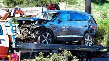 Tiger Woods no enfrenta cargos por el accidente que puso en riesgo su vida