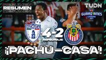 Pachuca elimina con autoridad a Chivas con un 4-2