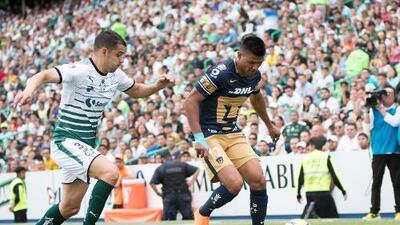 Cómo ver Pumas vs. Santos Laguna en vivo, por la Liga MX