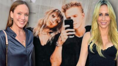Las madres de Miley Cyrus y Cody Simpson le dan la bendición a la relación que tienen sus hijos